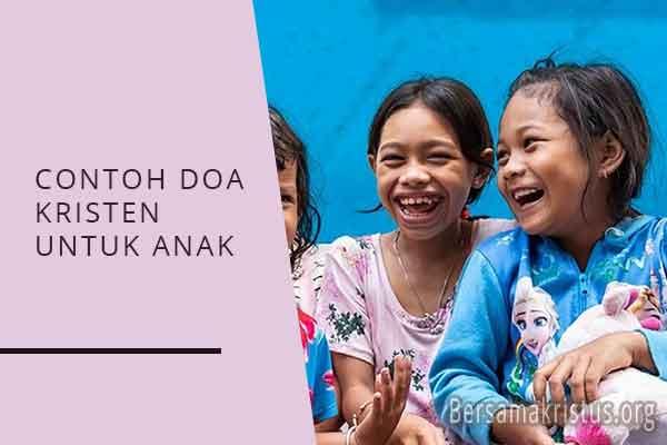 contoh doa kristen untuk anak