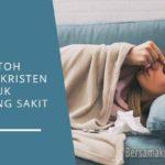 Contoh Doa Untuk Orang Sakit Kristen