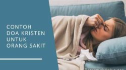 contoh doa kristen untuk orang sakit