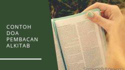 contoh doa pembacaan alkitab