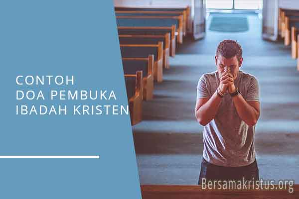contoh doa pembuka ibadah kristen