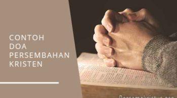 contoh doa persembahan kristen