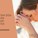 Contoh Doa Ucapan Syukur Kristen