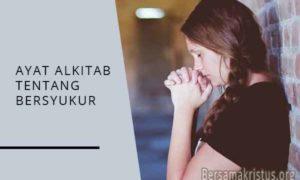 ayat alkitab tentang bersyukur