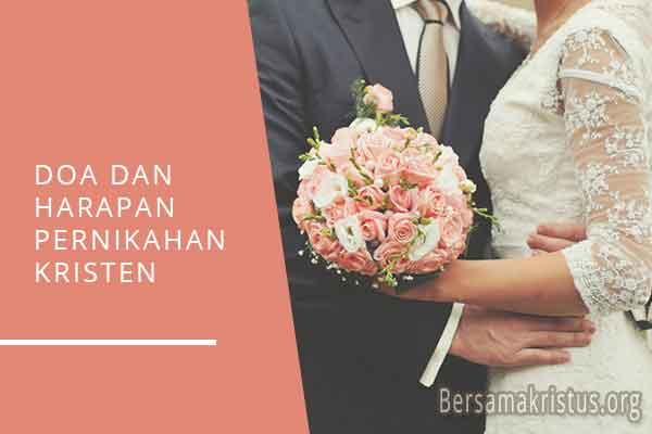 doa dan harapan pernikahan kristen