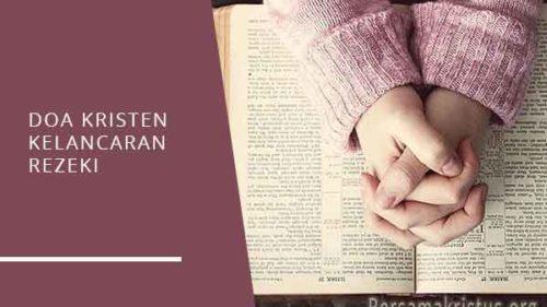 doa kristen kelancaran rezeki