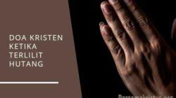 doa kristen ketika terlilit hutang