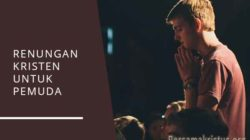 renungan kristen untuk pemuda