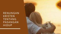 renungan kristen tentang pasangan hidup