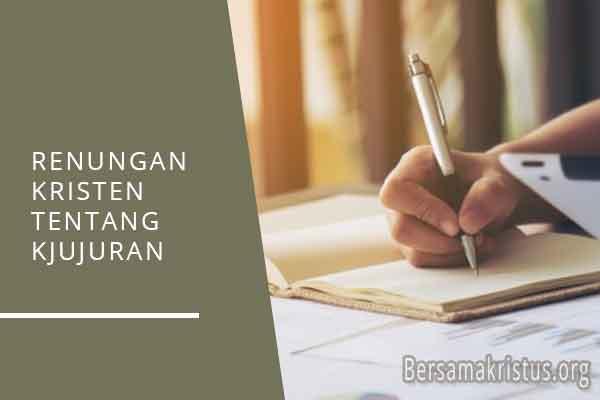 renungan kristen tentang pendidikan