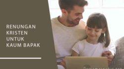 renungan kristen untuk kaum bapak