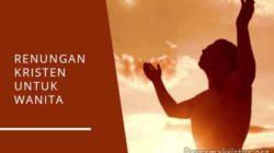 renungan kristen untuk wanita