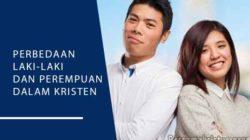 perbedaan laki laki dan perempuan dalam kristen