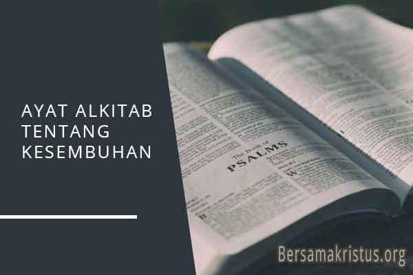 ayat alkitab tentang kesembuhan