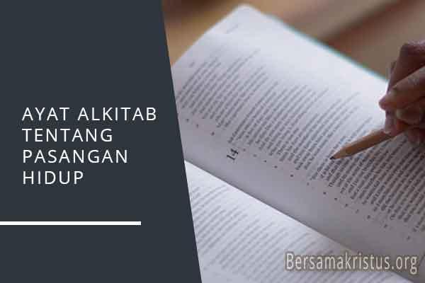 ayat alkitab tentang pasangan hidup