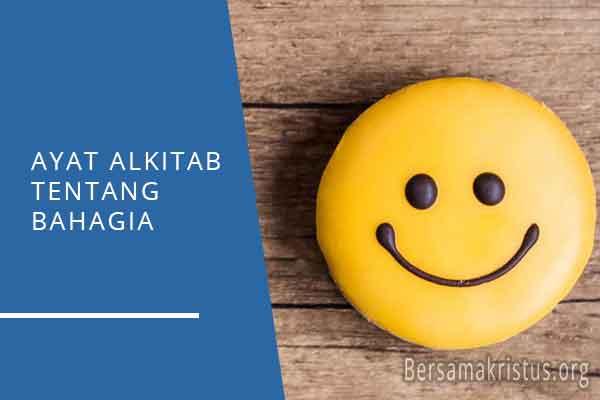 ayat alkitab tentang bahagia
