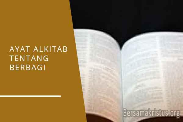 ayat alkitab tentang berbagi