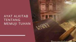 ayat alkitab tentang memuji tuhan