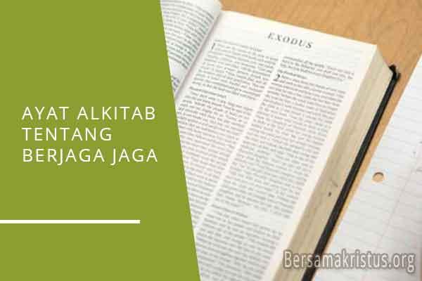 ayat alkitab tentang berjaga jaga