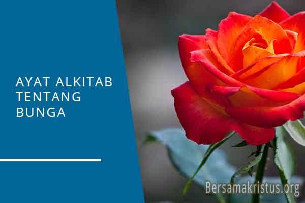 ayat alkitab tentang bunga