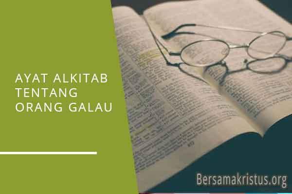 ayat alkitab tentang orang galau