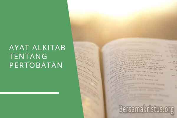 ayat alkitab tentang pertobatan