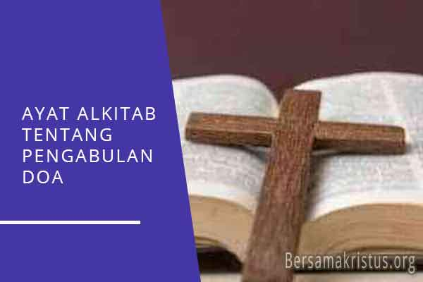 ayat alkitab tentang pengabulan doa