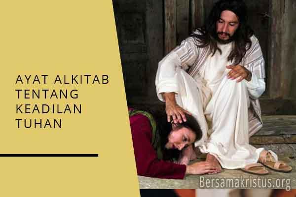 ayat alkitab tentang keadilan tuhan