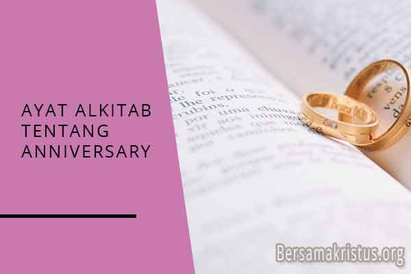 ayat alkitab tentang anniversary