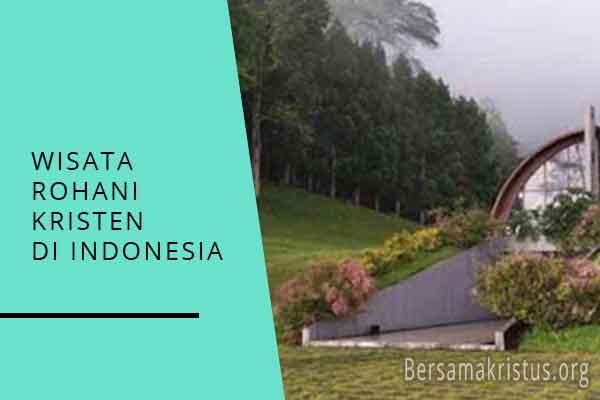 wisata rohani kristen di indonesia