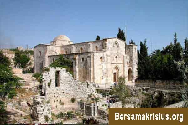 Gereja St Anna dan Kolam Bethesada