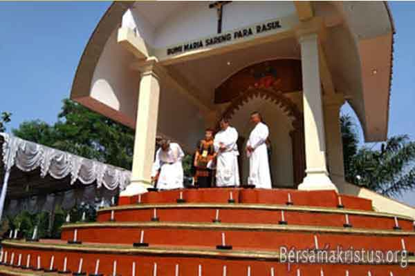 Taman Doa Maria Sareng Bumi Rasul Bogor