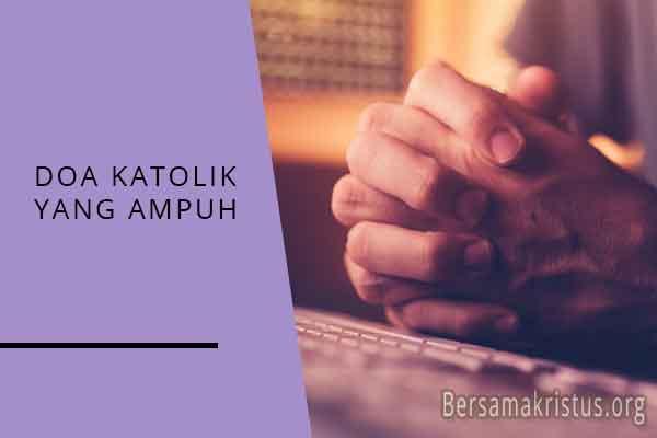 doa katolik yang ampuh
