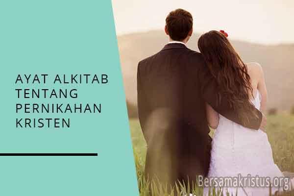 ayat alkitab tentang pernikahan kristen