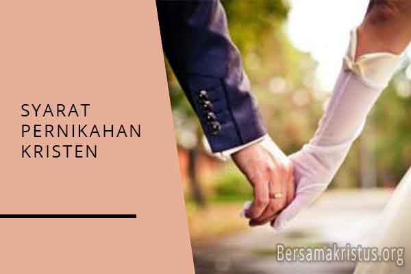 syarat pernikahan kristen