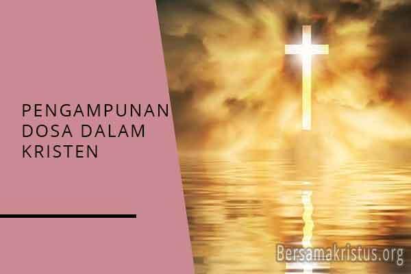 pengampunan dosa dalam agama kristen
