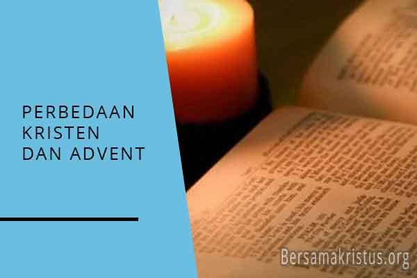 perbedaan kristen dan advent