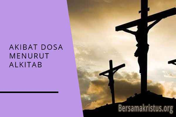 akibat dosa menurut alkitab