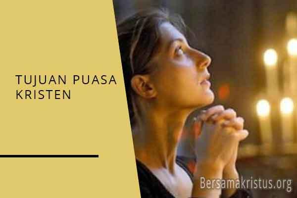 tujuan puasa kristen