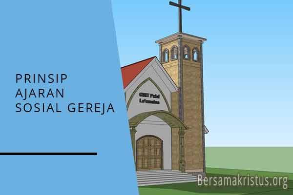 prinsip ajaran sosial gereja