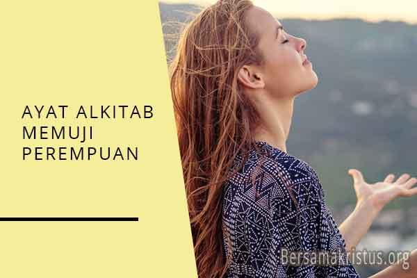 ayat alkitab memuji perempuan
